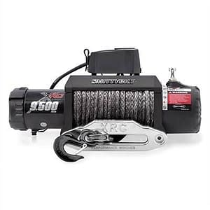 Smittybilt XRC-9.5K Winch Synthetic Rope Gen2, With Aluminum Fairlead - 98495
