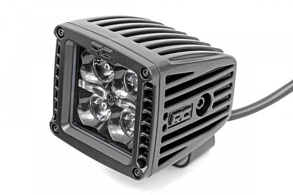 Rough Country 2in Square Cree LED Off Road Lights