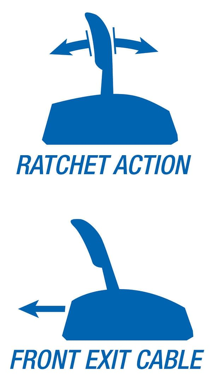 b&m automatic rathet shifter