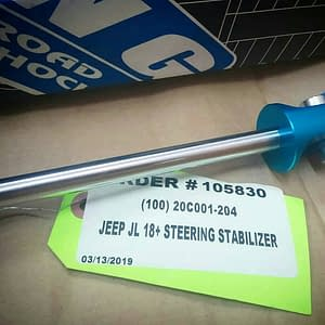 steering stabilizer king shock