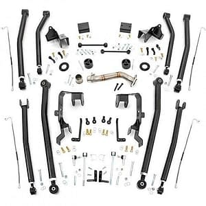 "Rough Country 78600U 4"" Lift Kit untuk Jeep Wrangler"