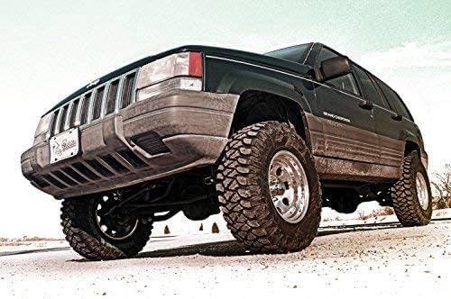 Jeep Grand Cherokee dengan Suspensi Rough Country