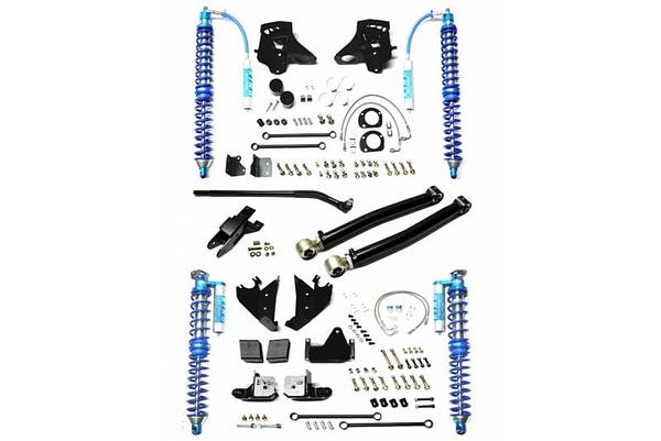 Lift kit off road EVO Enforcer Pro Stage 1 untu Jeep