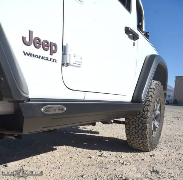 Rock Slide Engineering Step Slider Set For Jeep Wrangler JL 2 door