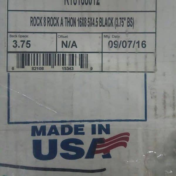paket AWC RT8168012 Black 16X8