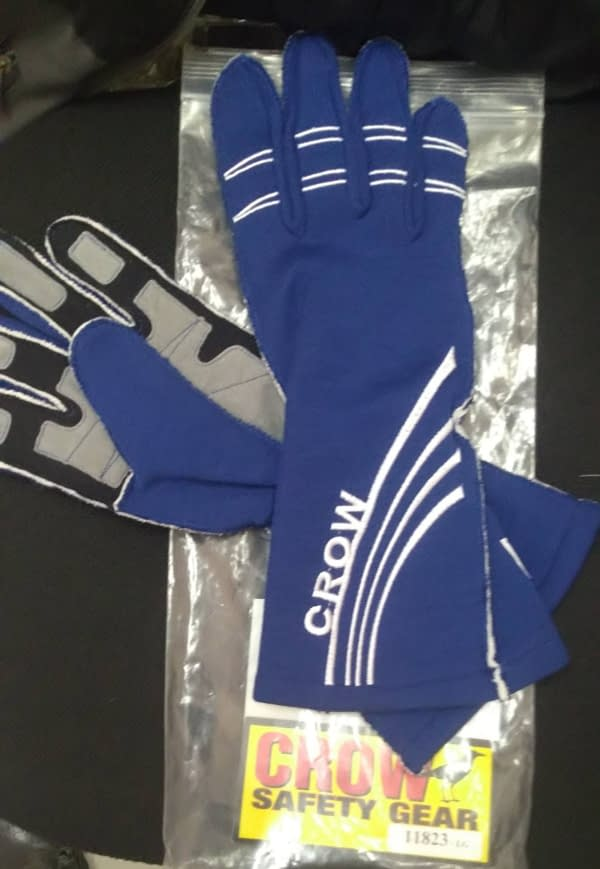 Crow Gloves All Star Nomex Blue L