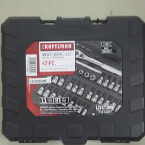 Craftsman Tool Set 42pcs