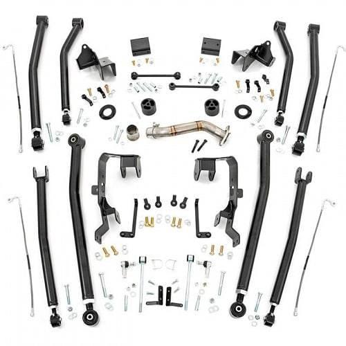 """Rough Country 78600U 4"""" Lift Kit untuk Jeep Wrangler"""