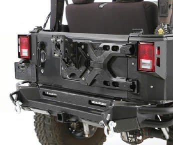 Smittybilt Pivot Heavy-Duty Oversize Tire Carrier