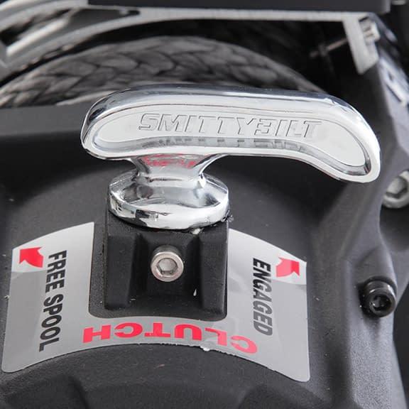 smittybilt gen2 waterproof electric off road winch clutch lever