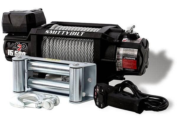 Smittybilt XRC 15.5K Gen 2 Electric Winch – 12000+ lbs - 97415