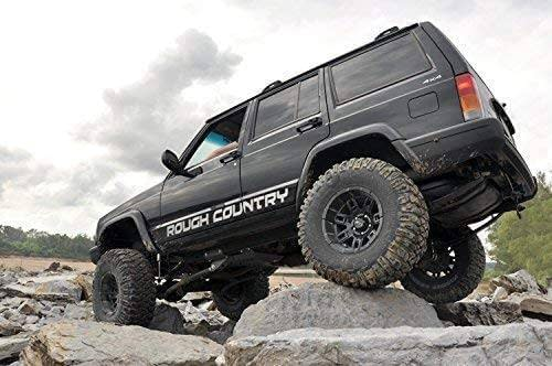 jeep cherokee xj dengan suspensi off road di bogor indonesia