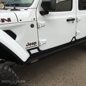 rocker guard off road untuk jeep gladiator