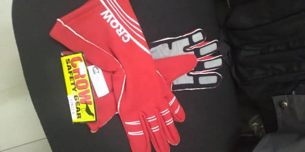 Crow Gloves All Star Nomex Red L