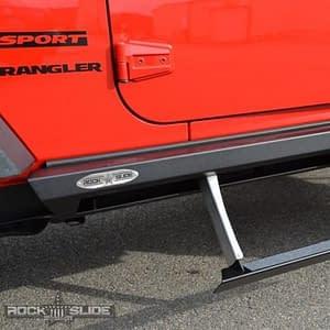 step slider jeep wrangler jk 2 pintu