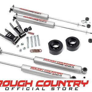 Kit lengkap Rough Country 1.5-inch Suspension Lift Full Kit 680.2
