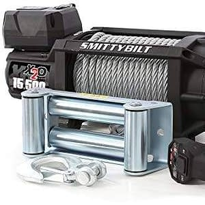 Smittybilt X2O Waterproof Winch - 15500 lb. Load Capacity - 97515